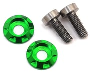 """175RC 3x8mm Titanium """"High Load"""" Motor Screws (Green) 