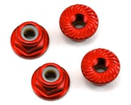 175RC Aluminum 4mm Serrated Locknuts (Red)   product-also-purchased