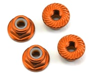 175RC Aluminum 4mm Serrated Locknuts (Orange)   product-also-purchased