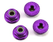 175RC Aluminum 4mm Serrated Locknuts (Purple) | product-also-purchased