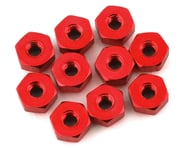 175RC Mini-T 2.0 Aluminum Nut Kit (Red) (10)   product-also-purchased