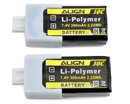 Align 2S1P LiPo Battery 30C (7.4V/300mAh) | product-related