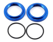 Team Associated 12mm Big Bore Threaded Collar (Blue) (2) | product-also-purchased