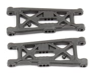 """Team Associated RC10B6 Factory Team Carbon Front Suspension """"Flat"""" Arms   product-also-purchased"""