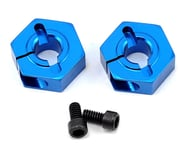Team Associated 12mm Aluminum Front Clamping Wheel Hex Set (Blue) (2)   product-also-purchased