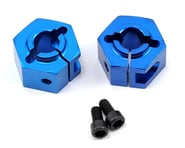 Team Associated 12mm Aluminum Clamping Wheel Hex Set (Blue) (2) | product-also-purchased