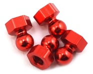 CRC Damper Tube Hex Ball Studs (Red) (4) | product-also-purchased