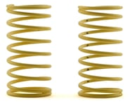 """Custom Works 1.25"""" Shock Spring (2) (5lb/Yellow) 
