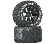 """DuraTrax Sixpack MT 2.8"""" 2WD Rear Mounted Truck Tires (Black) (2) 