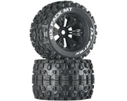 """DuraTrax Six Pack MT 3.8"""" Pre-Mounted Truck Tires (Black) (2) (1/2 Offset)   product-also-purchased"""