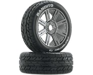 DuraTrax Bandito 1/8 Mounted Buggy Tires (Chrome) (2) (C2)   product-related