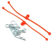 DuBro Body Klip Retainers w/Body Clips (Orange) | product-also-purchased