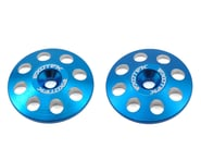 Exotek 22mm 1/8 XL Aluminum Wing Buttons (2) (Blue) | product-related