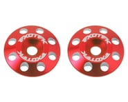 Exotek Flite V2 16mm Aluminum Wing Buttons (2) (Red)   product-related