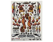 """Firebrand RC Concept Dragon Decal (Orange) (8.5x11"""") 