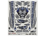 """Firebrand RC Concept Tiger Decal Sheet (Blue) (8.5x11"""") 