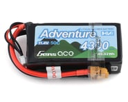 Gens Ace Adventure 3S 50C LiHV Battery Pack w/XT60 Connector (11.4V/4300mAh)   product-related