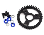 Hot Racing Traxxas MOD1 Steel Spur Gear (Blue) (40T) | product-related