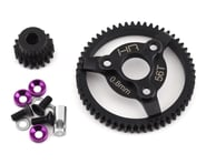Hot Racing Traxxas 32P Steel Pinion & Spur Gear Set (Purple) (18T/56T)   product-related