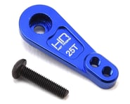 Hot Racing Traxxas TRX-4 Aluminum Servo Horn (Blue) (25T)   product-related