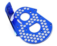 JConcepts RC10 Classic Aluminum Honeycomb Rear Motor Plate (Blue) | product-related