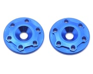 """JConcepts Aluminum B6/B6D """"Finnisher"""" Wing Buttons (Blue) (2)   product-also-purchased"""