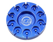 JConcepts Aluminum Pinion Puck Stock Range (Blue) | product-also-purchased