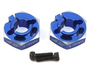 JConcepts B6/B6D 5.0mm Aluminum Lightweight Clamping Wheel Hex (2) (Blue)   product-also-purchased