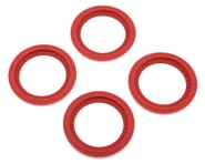 JConcepts Tribute Monster Truck Wheel Mock Beadlock Rings (Red) (4) | product-also-purchased