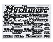Muchmore Decal Sheet (Black) | product-also-purchased