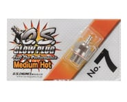 "O.S. No.7 Short Body Standard Glow Plug ""Medium Hot"" | product-related"
