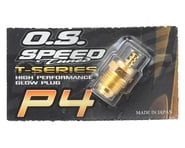 """O.S. P4 Gold Turbo Glow Plug """"Super Hot""""   product-related"""