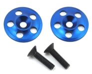 PSM Aluminum 1/8 UFO V2 Wing Buttons (Blue) (2)   product-also-purchased