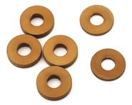 PSM MP10 Aluminum Rear Hub Spacer Set (Dark Gold) (6)   product-related