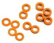 ProTek RC Aluminum Ball Stud Washer Set (Orange) (12) (0.5mm, 1.0mm & 2.0mm) | product-related