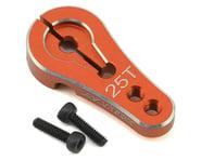 Samix Aluminum Clamp Lock Servo Horn (25T) (Orange)   product-related