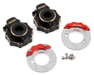 Samix Traxxas TRX-4 Brass Portal Cover & Scale Brake Rotor Set | product-also-purchased