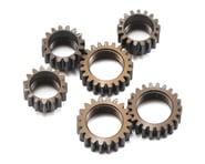 Serpent Aluminum Centax-3 Gear V2 Pinion Gear Set (6) | product-related