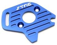 ST Racing Concepts Aluminum Heatsink Motor Plate (Blue) (Slash 4x4)   product-related