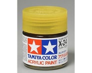 Tamiya X-24 Clear Yellow Gloss Finish Acrylic Paint (23ml) | product-also-purchased