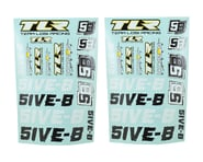 Team Losi Racing 5IVE-B Sticker Sheet Set | product-related