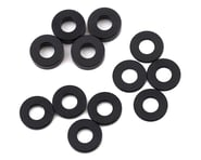 Team Losi Racing M3 Caster Block Aluminum Washer Set (Black) (4) | product-related