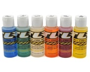 Team Losi Racing Silicone Shock Oil Six Pack (20, 25, 30, 35, 40, 45wt) (2oz) | product-related