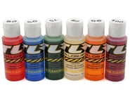 Team Losi Racing Silicone Shock Oil Six Pack (50, 60, 70, 80, 90, 100wt) (2oz) | product-related