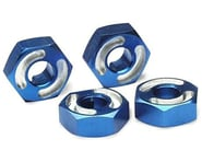 Traxxas Aluminum Hex Wheel Hubs w/2.5x12mm Axle Pins (Blue) (2) | product-related