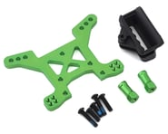 Traxxas Aluminum Rustler 4X4 Front Shock Tower (Green) | product-also-purchased