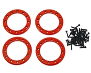 """Traxxas Aluminum 1.9"""" Beadlock Rings (Red) (4) 