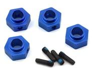 Traxxas TRX-4 12mm Hex Aluminum Wheel Hubs (Blue) (4)   product-related