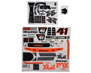 Traxxas Unlimited Desert Racer Fox Edition Decals | product-related