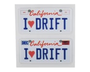 WRAP-UP NEXT REAL 3D U.S. Licence Plate (2) (I LOVE DRIFT) (11x50mm)   product-also-purchased